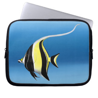 Indo Pacific Moorish Idol Fish Laptop Sleeve