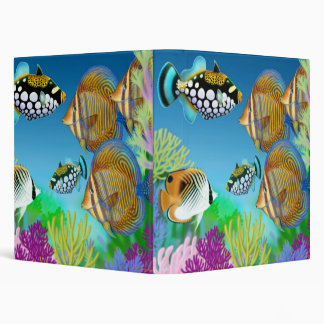 Indo Pacific Reef Fish Avery Binder