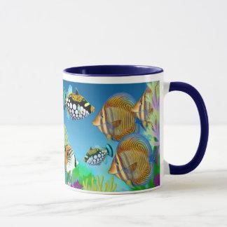 Indo Pacific Reef Fish Mug