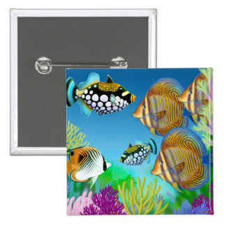 Indo Pacific Reef Fish Pin