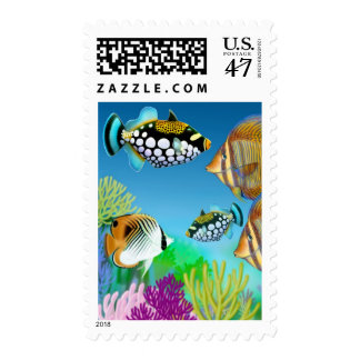 Indo Pacific Reef Fish Postage