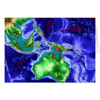 IndoAustralia Tarjeta