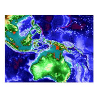 IndoAustralia Tarjeta Postal