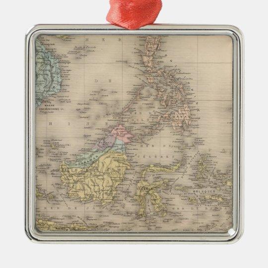 Indochina archipelago of Asia Metal Ornament