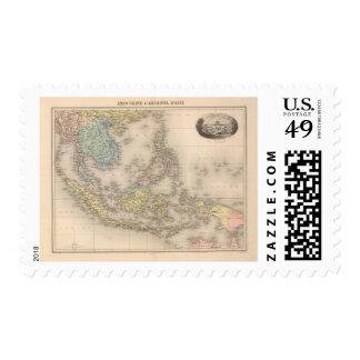 Indochina archipelago of Asia Postage