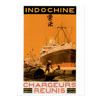Indochine Chargeurs Reunis Postcard