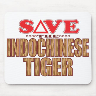 Indochinese Tiger Save Mouse Pad