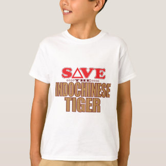 Indochinese Tiger Save T-Shirt