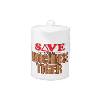 Indochinese Tiger Save Teapot