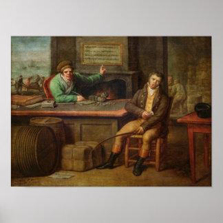 Indolencia, 1818 poster