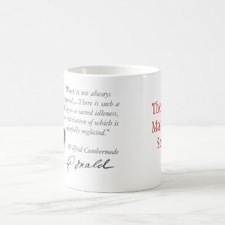 Indolencia sagrada taza básica blanca