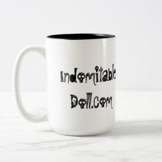 """Indomitable Doll """"Smoking Doll"""" Mug"""
