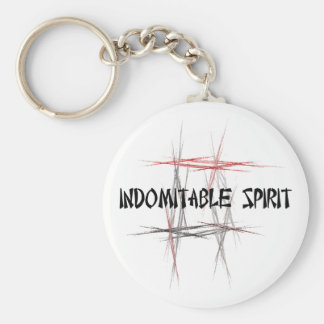 Indomitable Spirit Key Chain