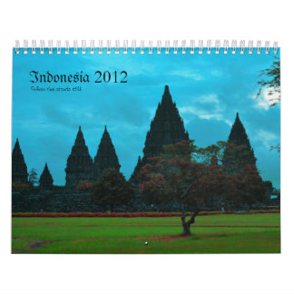 Indonesia 2012 calendar