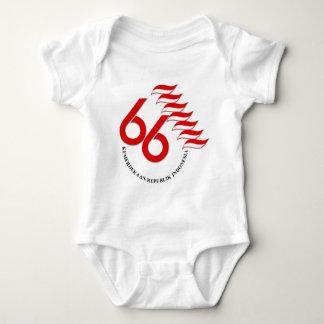 Indonesia 66 Tahun Baby Bodysuit