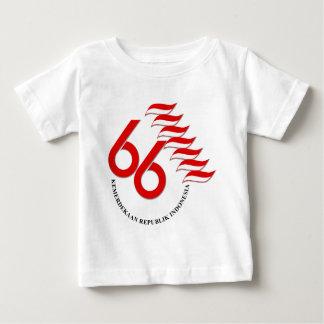 Indonesia 66 Tahun Baby T-Shirt