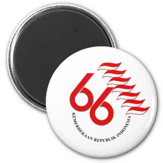 Indonesia 66 Tahun Magnet