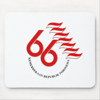 Indonesia 66 Tahun Mouse Pad