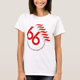 Indonesia 66 Tahun T-Shirt