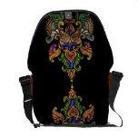 Indonesia Art design in cloisonné Courier Bag