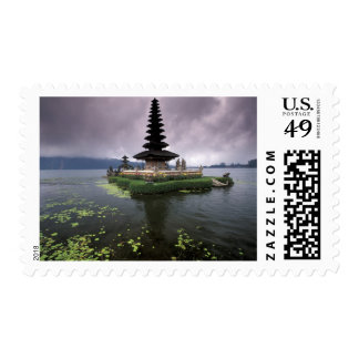 Indonesia, Bali, templo de Ulun Danu Sellos Postales