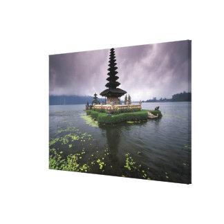 Indonesia, Bali, Ulun Danu Temple. Canvas Print
