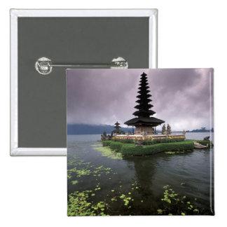 Indonesia, Bali, Ulun Danu Temple. Pinback Button