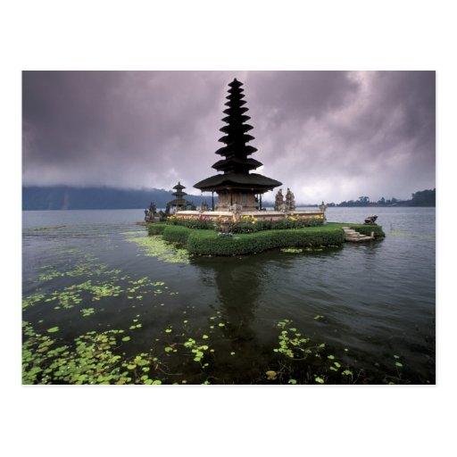 Indonesia, Bali, Ulun Danu Temple. Post Card