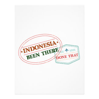 Indonesia Been There Done That Letterhead