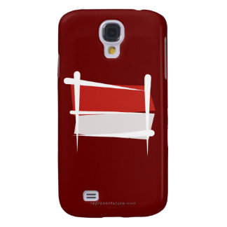 Indonesia Brush Flag Samsung Galaxy S4 Cover