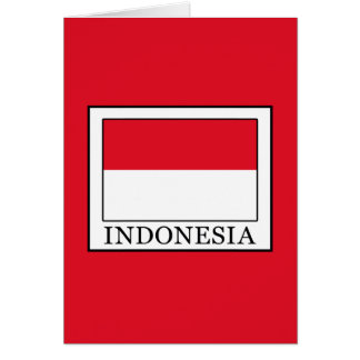 Indonesia Card