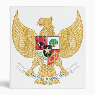 Indonesia Coat Of Arms Binder