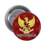 Indonesia Coat of Arms Button