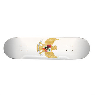 Indonesia Coat Of Arms Skate Deck
