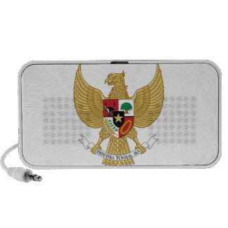 Indonesia Coat of Arms iPod Speakers