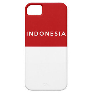 indonesia country flag text name iPhone SE/5/5s case