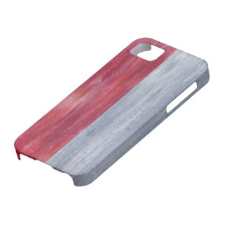Indonesia distressed Indonesian flag iPhone SE/5/5s Case