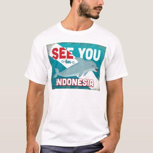 Indonesia Dolphin - Retro Vintage Travel