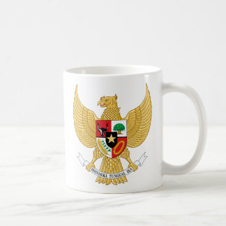 indonesia emblem coffee mug