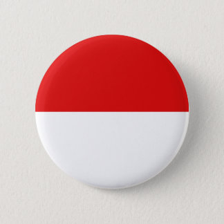 Indonesia Fisheye Flag Button