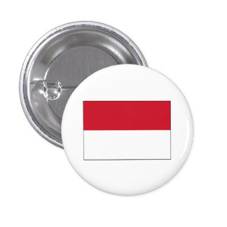 Indonesia FLAG International Buttons