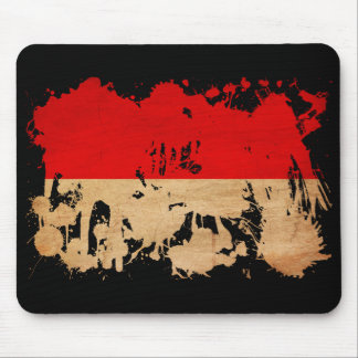 Indonesia Flag Mouse Pad