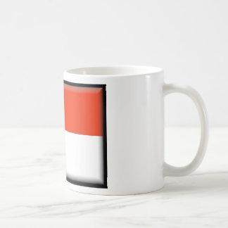 Indonesia Flag Classic White Coffee Mug