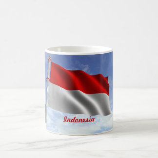 Indonesia Flag Mug