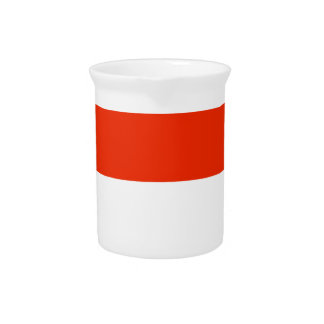 Indonesia Flag Drink Pitchers
