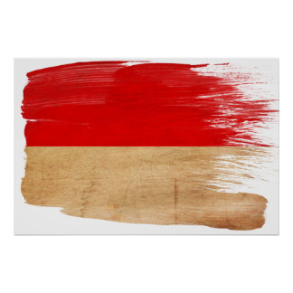 Indonesia Flag Posters