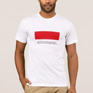 Indonesia flag souvenir tshirt