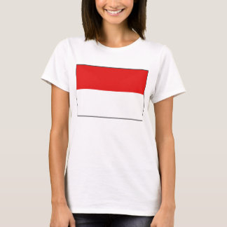 Indonesia Flag x Map T-Shirt