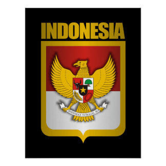 """""""Indonesia Gold"""" Posters & Prints"""