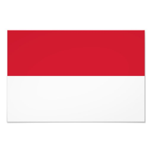 Indonesia – Indonesian Flag Photo Print